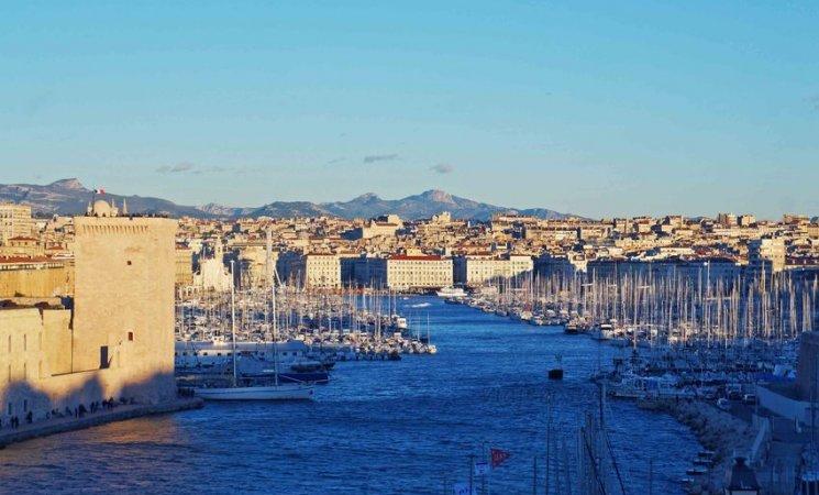 Puerto antiguo de Marsella