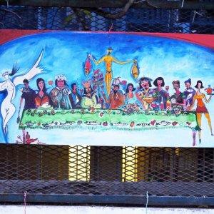Pintura en el Barrio Le Panier, Marsella