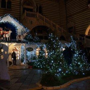 Mercado navideño en Verona