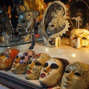 Tienda de máscaras en Venecia