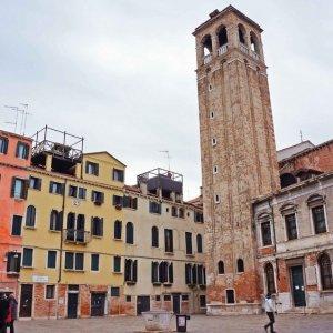 Plaza pública en San Polo, Venecia