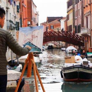 Un pintor inspirado por Venecia