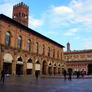 Palazzo del Podestà en Bolonia