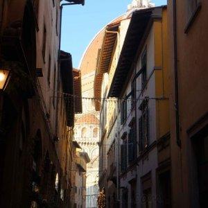 Duomo de Florencia desde sus calles