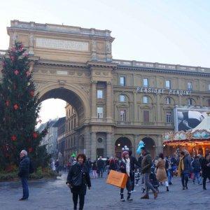 Porta renacentista en Florencia