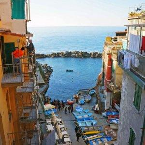 Embarcadero de Riomaggiore, Cinque Terre