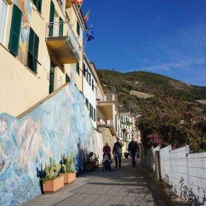 Calles de Riomaggiore, Cinque Terre