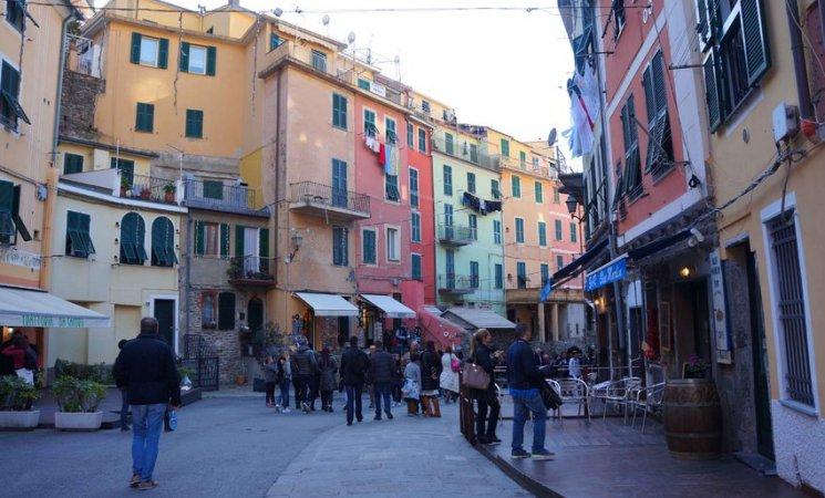 Calles de Vernazza, Cinque Terre