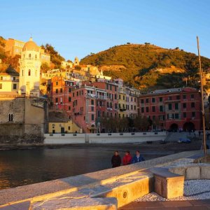 Atardecer en Vernazza, Cinque Terre