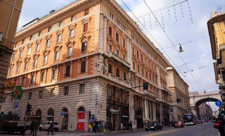 Vía 20 de septiembre en Génova