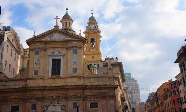 Iglesia de Santi Ambrogio e Andrea detta del Gesù, Génova