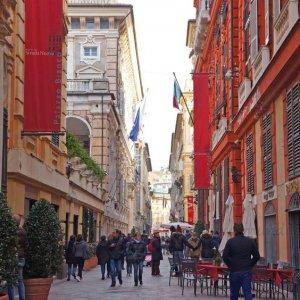 Via Garibaldi, Génova