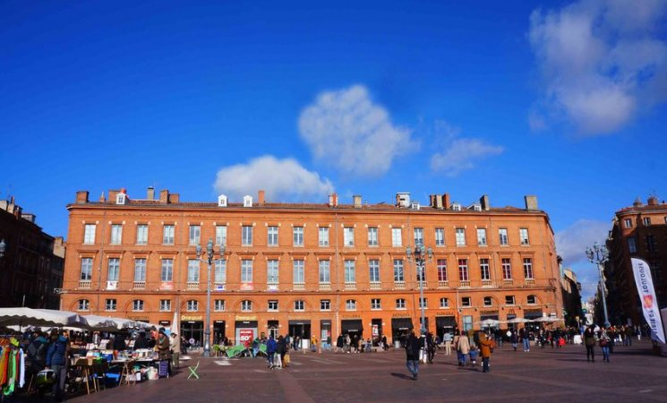 Plaza del Capitolio en Toulouse