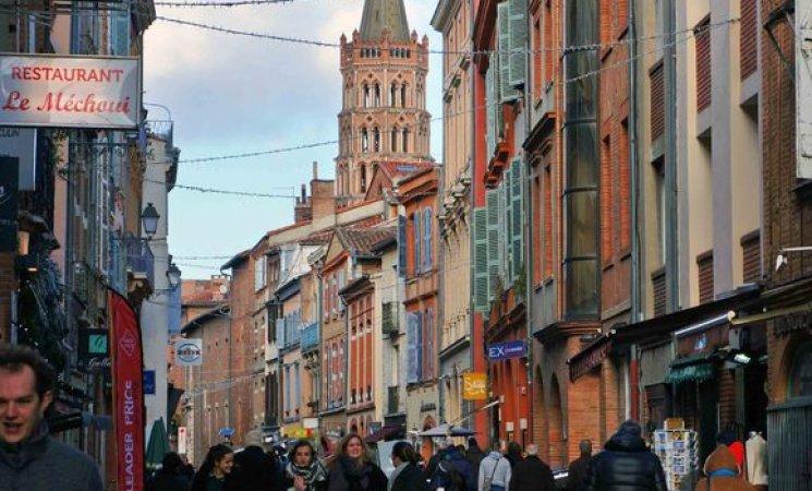 Rue du Taur en Toulouse