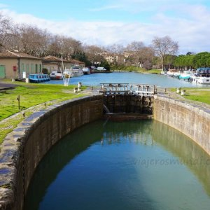 Canal de Midi en Carcassone