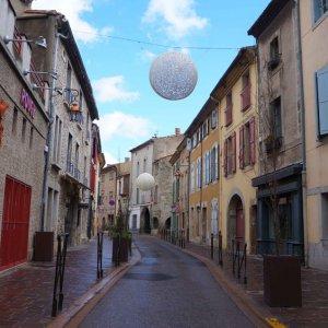 Calles de Carcassonne, Francia
