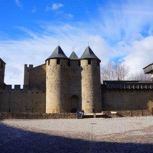 Castillo Condal de la Ciudadela de Carcassonne, Francia