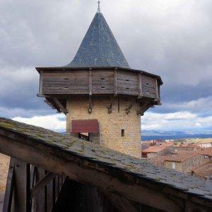 Torres de defensa de la Ciudadela de Carcassonne, Francia