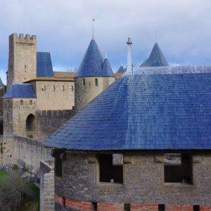 Murallas de la Ciudadela de Carcassonne, Francia