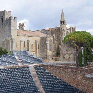 Teatro Jean-Deschamps en la Ciudadela de Carcassonne, Francia