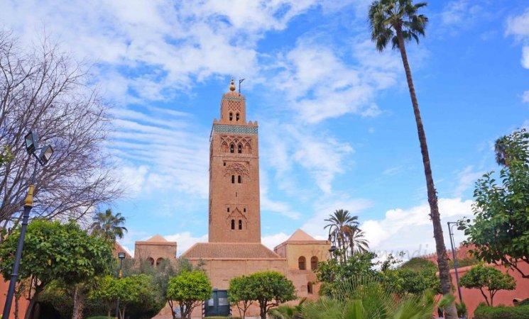 Mezquita Kutubía en Marrakech
