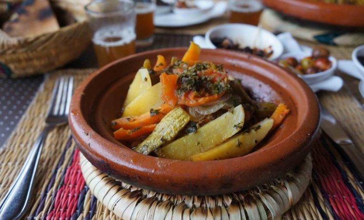 Tajín marroquí en Marrakech