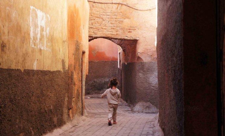 Calles de la medina de Marrakech