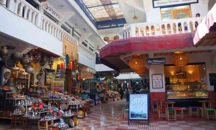 Mercados en Marrakech