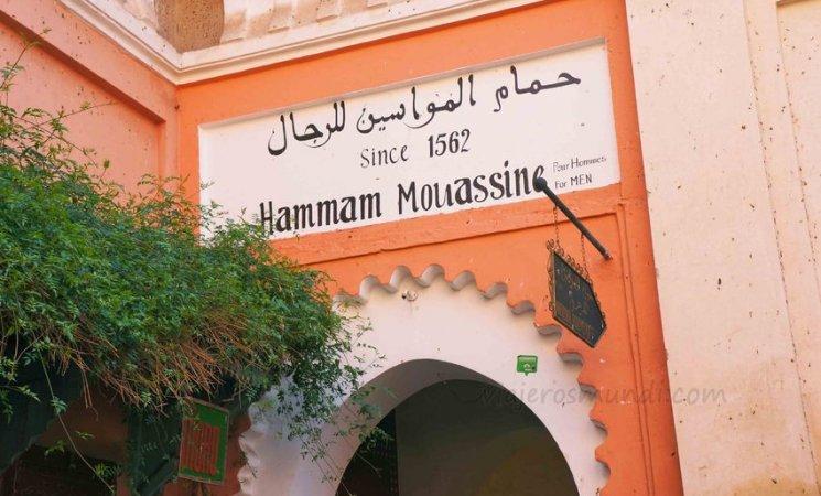 Un típico Hammam en la medina de Marrakech