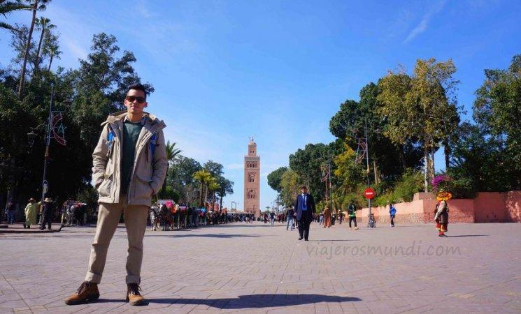 Torre de la Mezquita Kutubía en Marrakech