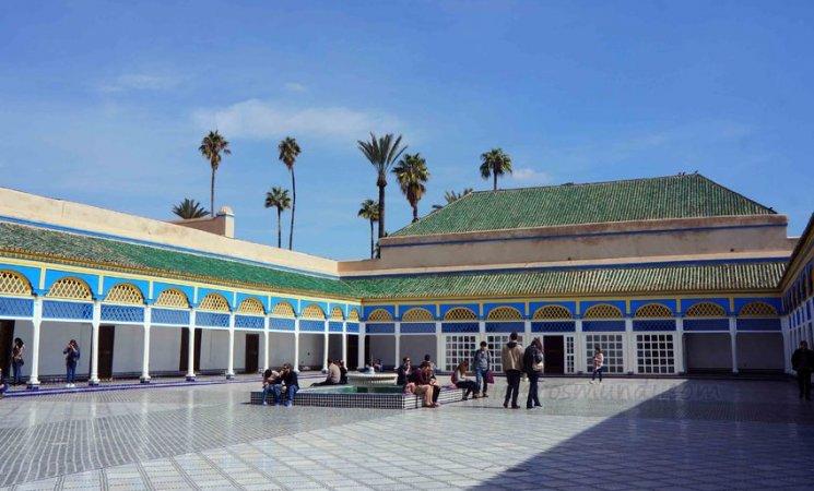 Harén del Palacio de la Bahía, Marrakech